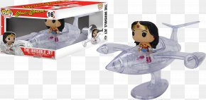 Invisible Woman - Diana Prince San Diego Comic-Con Invisible Plane Action & Toy Figures DC Comics PNG