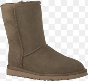 Boot - Snow Boot Shoe Footwear Suede PNG