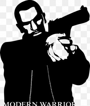 Niko Bellic - Drawing Silhouette Work Of Art Television Show PNG