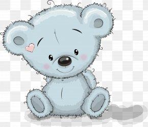 Gray Cartoon Koala - Bear Giant Panda Birthday Greeting Card Clip Art PNG