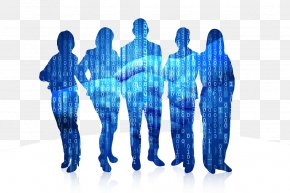 Blue Team Figure Silhouette - Senior Management Business Chief Executive Utah Association For Home Care Executive Director PNG