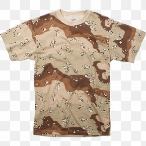Armed Forces Day - T-shirt Desert Camouflage Uniform Military Camouflage Desert Battle Dress Uniform PNG