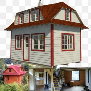Small House - Tiny House Movement House Plan Building PNG