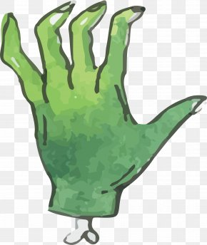 Green Ghost Horror - Ghost Icon PNG