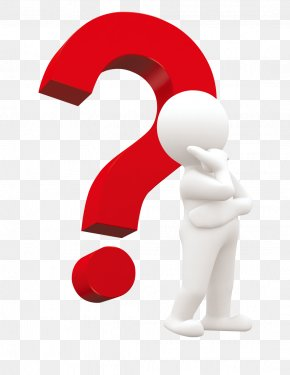 Thinking - Question Mark Robotic Process Automation Information Test PNG