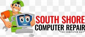 Vintage Computer - Computer Repair Technician Logo Clip Art PNG