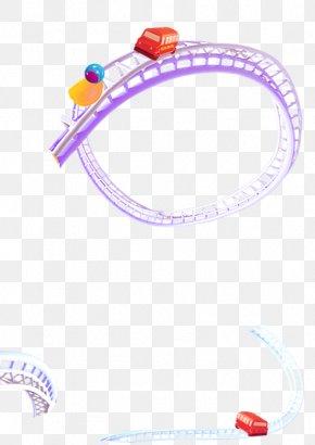 Toy Roller Coaster - Roller Coaster Amusement Park PNG