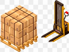 Vector Cargo Truck Plant Material - Courier Cargo Clip Art PNG