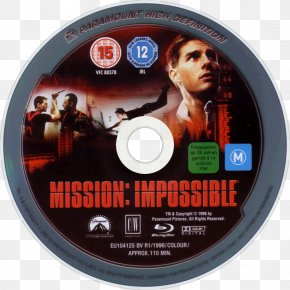 Tom Cruise - Tom Cruise Mission: Impossible Compact Disc Blu-ray Disc DVD PNG