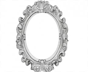 Vector Mirror - Picture Frames Window Oval Clip Art PNG