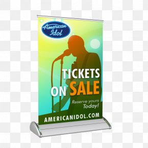 X Display Rack Design - The Best And Worst Of American Idol Brand Display Advertising Web Banner PNG