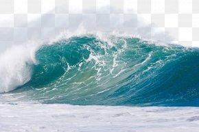 Blue Waves - Wind Wave Sea Ocean PNG