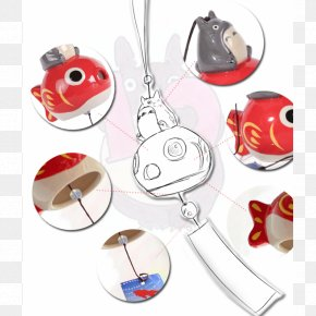 Totoro - Wind Chimes Symbol Summer PNG