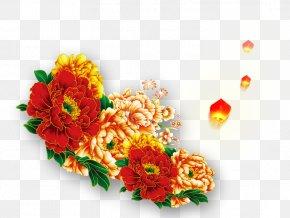 Traditional Chinese Style Peony Flower - Moutan Peony Floral Design U4e2du56fdu5341u5927u540du82b1 PNG