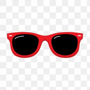 Red Sunglasses Cliparts - Aviator Sunglasses Ray-Ban Clip Art PNG
