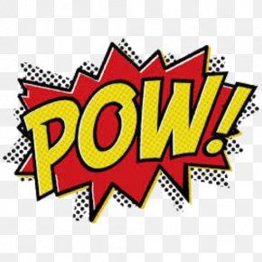 Pow - Batman Diana Prince Superhero Comic Book Clip Art PNG