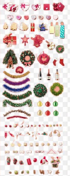 Christmas Decorations Gift - Christmas Stocking Mockup Gift PNG