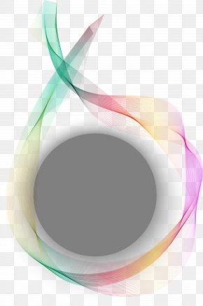 Vector Gradient Technology Background Decoration - Circle Gradient Euclidean Vector PNG