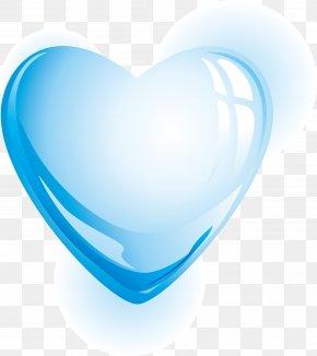 Heart-shaped Water - Euclidean Vector Heart Water Drop PNG