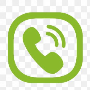 Green Phone Symbol - Logo Telephone Call Icon PNG