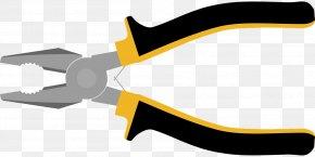 Pliers - Hand Tool Lineman's Pliers Needle-nose Pliers Clip Art PNG