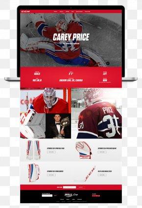 Carey Price - Logo Display Advertising Brand Multimedia PNG