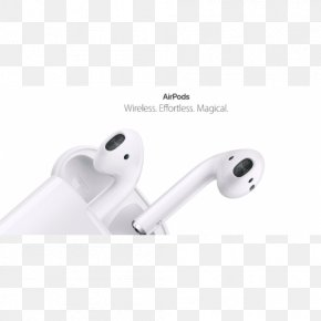 Headphones - AirPods Apple Earbuds Headphones IPhone PNG