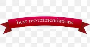 Symmetrical Red Ribbon Vector - Ribbon Label Sticker PNG
