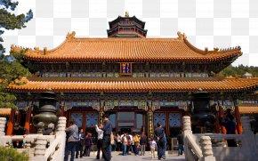 Beijing Summer Palace Landscape Fourteen - Old Summer Palace Kunming Lake Chinese Garden PNG