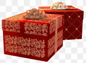 Party Favor Furniture - Present Box Gift Wrapping Rectangle Table PNG