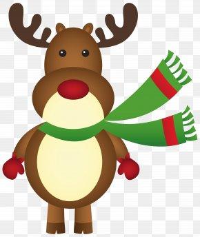 Rudolph Cliparts - Rudolph Santa Claus Reindeer Christmas Clip Art PNG