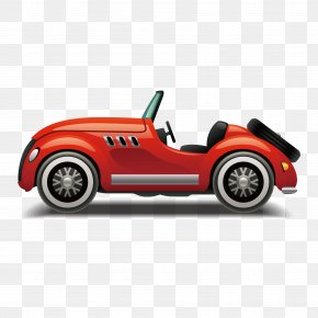 Vector Open-top Sports Car - Sports Car Automotive Design PNG