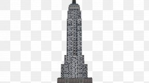 Building - Empire State Building Skyscraper Icon PNG