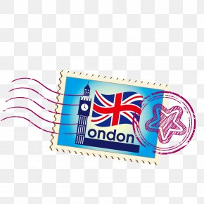 Vector Sticker England - London Royalty-free Postage Stamp Stock Photography PNG
