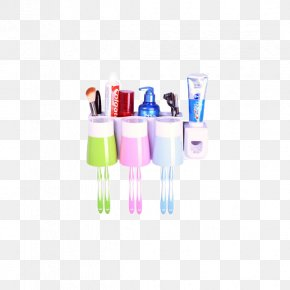Lok Yi Jia Sucker Toothbrush Holder Suit - Toothbrush Toothpaste Pump Dispenser Tooth Brushing PNG