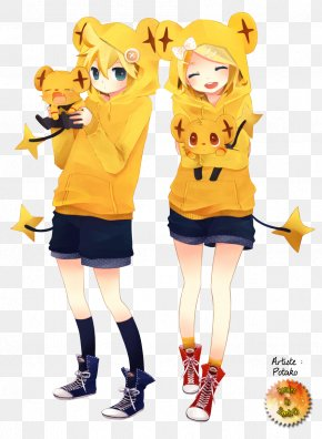 Hatsune Miku - Kagamine Rin/Len Hatsune Miku Vocaloid Kaito PNG