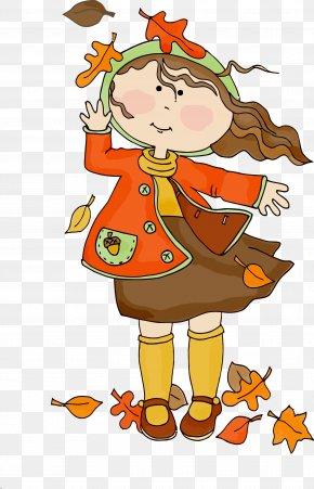 Happy Cartoon - Fall Leaf Autumn Leaf Leaves PNG