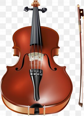 Violin And Bow - Violin Musical Instrument PNG