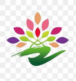 Logo Of Shandong Radio And TV Art Festival - Visual Arts Broadcasting Logo Floral Design PNG