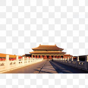 Majestic Palace - Forbidden City Tiananmen Square Temple Of Heaven Great Wall Of China PNG