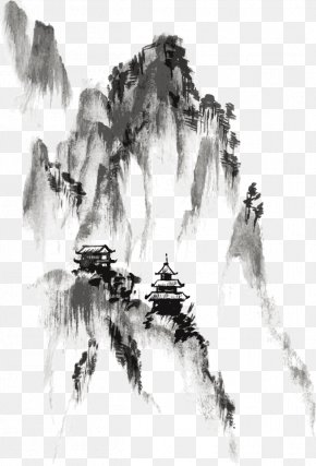 Ink - Ink Wash Painting Drawing India Ink PNG