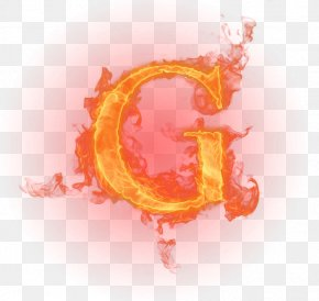 Flame Letter - Letter English Alphabet Fire Flame PNG