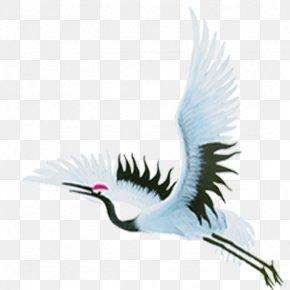 Flying Crane - Flight Crane Clip Art PNG