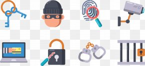 Criminals Swipe Credit Card Icon - Crime Robbery Icon PNG