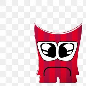 Cute Little Red Monster - Monster Party Frankensteins Monster Cartoon PNG