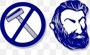 No Shave Movember Day Mustache - Movember Shaving Beard November Clip Art PNG
