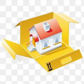 Creative House - House Cartoon Building PNG