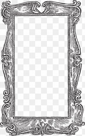 Victorian Frame Cliparts - Picture Frame Clip Art PNG
