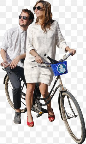 People - Bicycle Rendering Clipping Path Cycling PNG