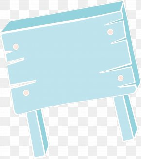 Cartoon Signs Vector - Blue Material Pattern PNG